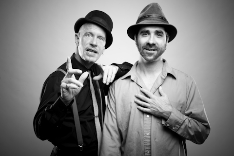 The Chris Chandler and Paul Benoit Traveling Poetry Sideshow Live on Orcas Island 032010